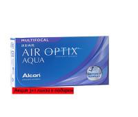 Air Optix Multifocal акция 3+1 линза в подарок